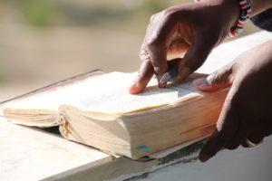 Bible sur les pas du Christ